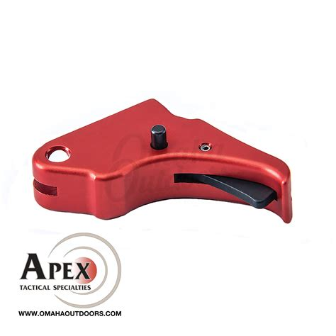 Red M P Shield Action Enhancement Trigger Apex Tactical