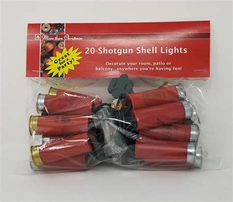 Red Shotgun Shell Lights