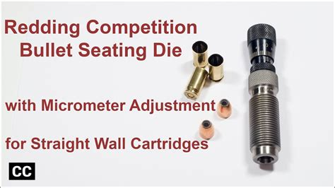 Redding Competition Micro Adjustable Bullet Seating Die And Estate Super Sport Target 12 Ga 2 3 4 1 Oz 7 1 2 Lead