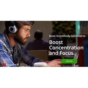 Buying reduce distractions, get more energy, hit your deadlines! focus@will music for concentration