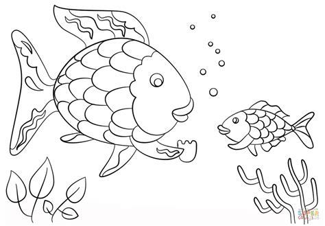 Regenbogenfisch Ausmalbilder Malvorlagen