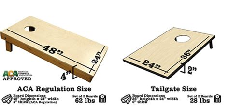 Regulation size corn toss boards Image