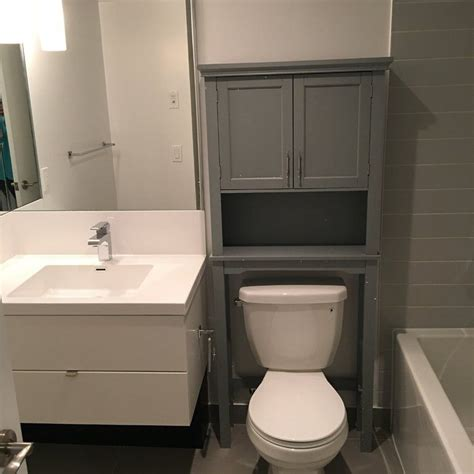 "Reichman 27.3"" W x 64.2"" H Over the Toilet Storage"