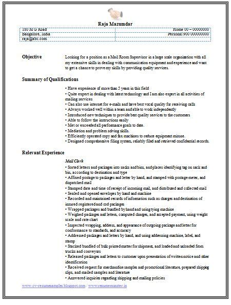 Relevant Experience Resume Examples | Cv Resume Accountant