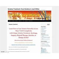 Relief sciatica naturally top converting sciatica offer on cb! bonus