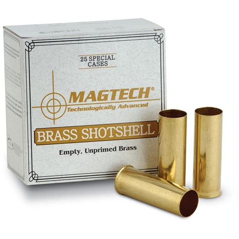 Reloading Brass Shotgun Shells With Slugs