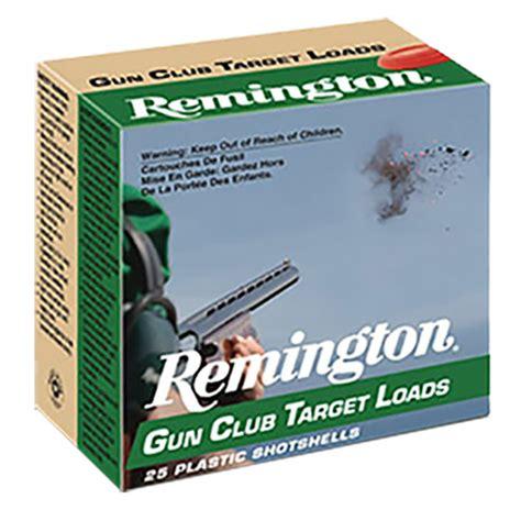 REM GUN CLUB 12GA 2 75 1 1 8oz 7 5 25 10