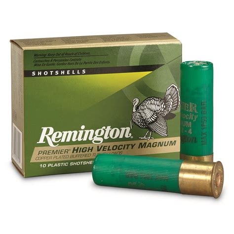Remington 12 Gauge Ammo Green Turkey Load