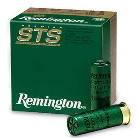 Remington 12GA 2 75 1 1 8oz 7 5 STS 25 10