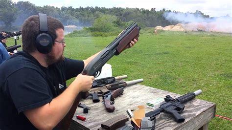 Remington 1740 Double Barrel Pump Shotgun