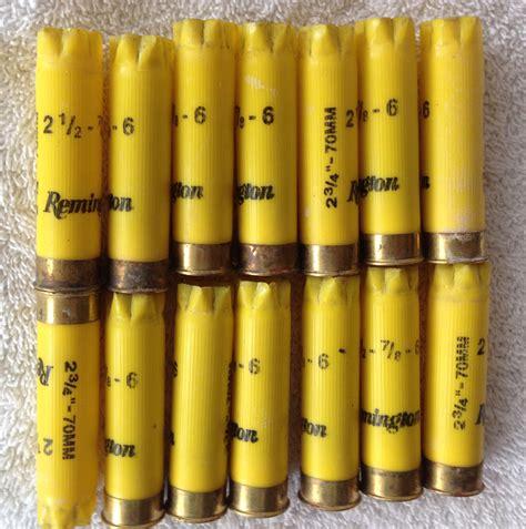Remington 20 Gauge 2 3 4 70mm 1-4 Shotgun Shells