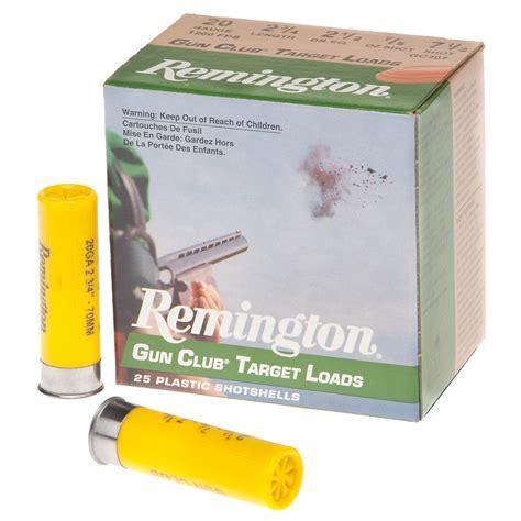 Remington 20 Gauge Target Shotgun Shells