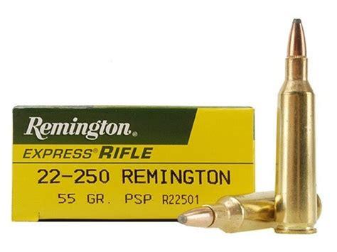 Remington 22 250 Ammo