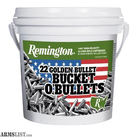 Remington 22 Ammo 1400 Bucket