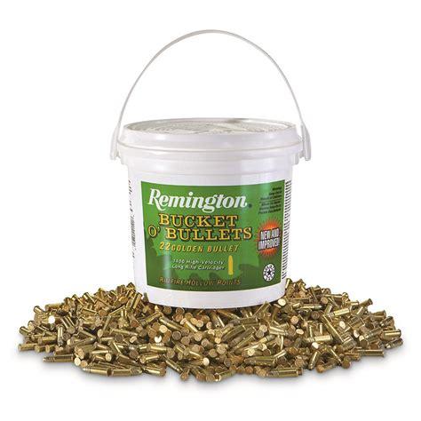 Remington 22 Lr Golden Bullet 1400 Round Bucket Rimfire Ammo