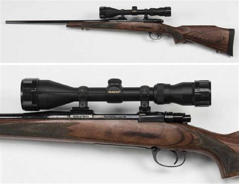 Rifle-Scopes Remington 22 Rifle With Scope 350 42 Barrel To Tip.