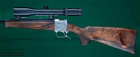 Remington 243 Falling Block Rifle