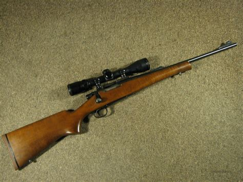 Remington 243 Youth Model Rifle And Winchester 22 Semi Automatic Rifle Model 190