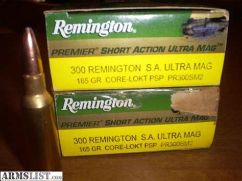 Remington 300 Saum Ammo For Sale