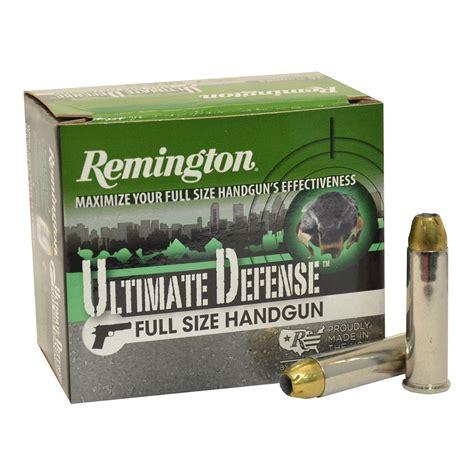 Remington 357 Ammo Jhp