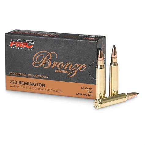 Remington 55 Gr 223 Ammo