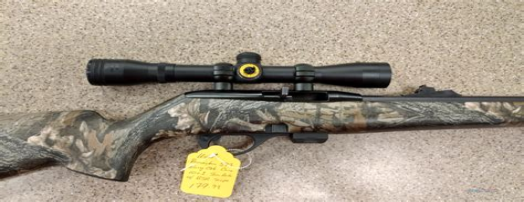 Remington 597 22lr Rifle With Scope