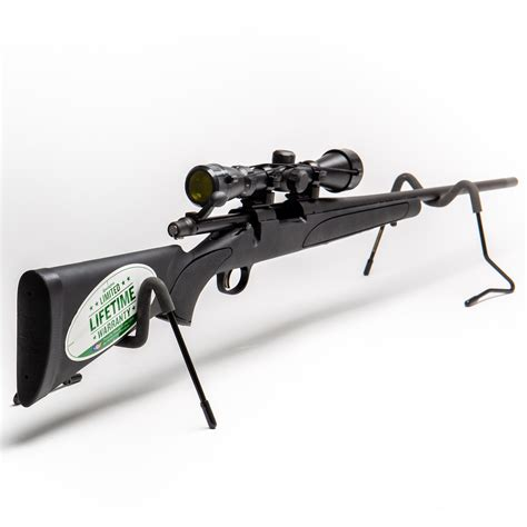 Remington 700 Adl Scoped Rifle Combo