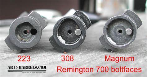 Remington 700 Bolt Face Conversion