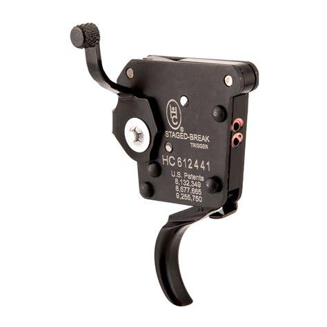 Remington 700 Oem 2stage Trigger Right Hand Black Huber