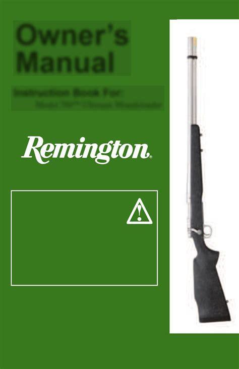 Remington 700 Service Manual