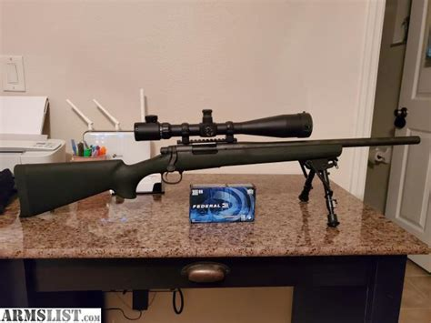 Remington 700 Sps Tactical With Scope Private Sellers Only