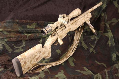 Remington 700 Tactical Green Camo