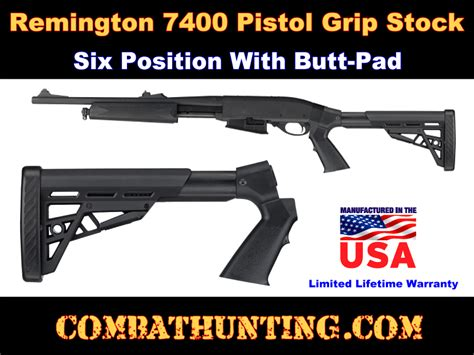 Remington 7400 Pistol Grip Butt Stock