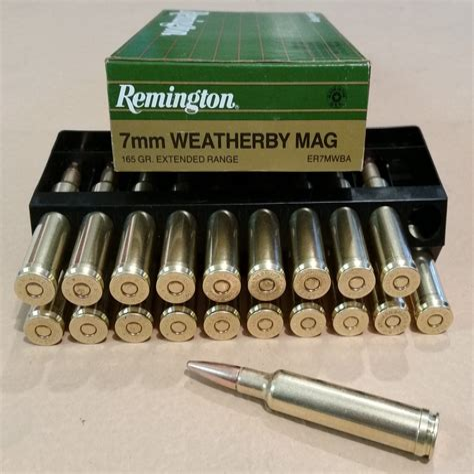 Remington 783 7mm Mag Ammo