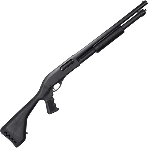 Remington 870 Black Tactical Shotgun