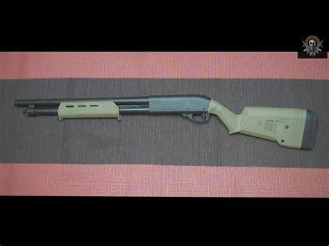 Remington 870 Magpul Stock Set Install Musty Yeti