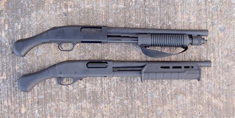 Remington 870 Tac 14 Versus Shockwave