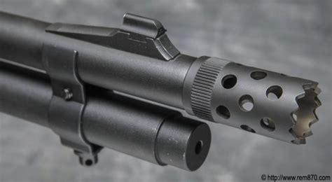 Remington 870 Tactical With Muzzle Brake