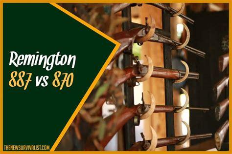 Remington 870 Vs 887 Hunting