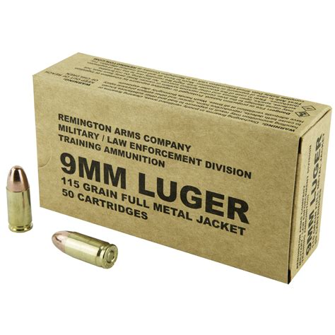 Remington 9mm Ammo Ballistics