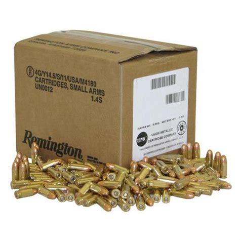 Remington 9mm Bulk Ammo Package