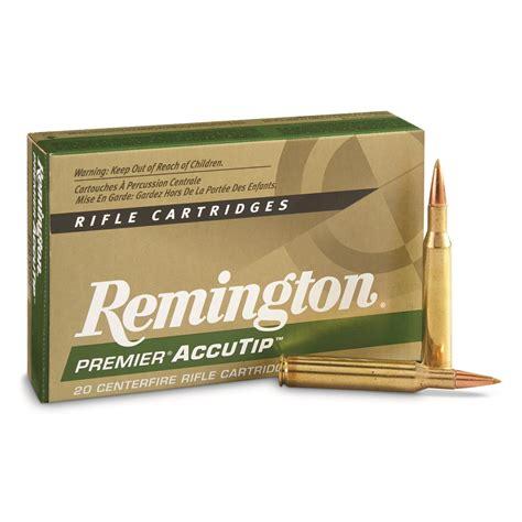 Remington Accutip 270 Win 130gr Accutip Bt 20 B For Sale
