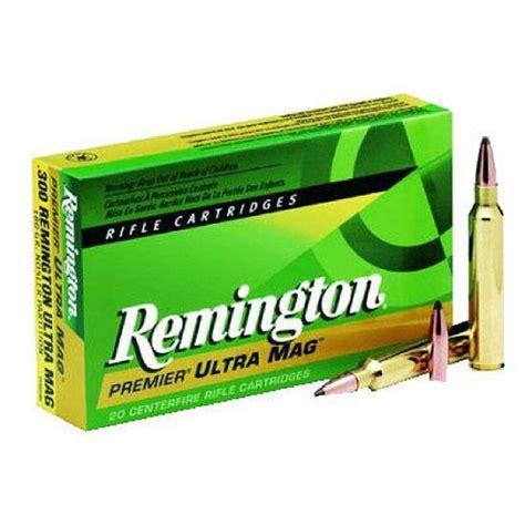 Remington Ammo 300 Rum