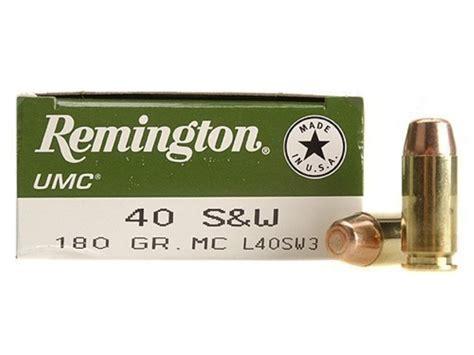 Remington Ammo 40 S W