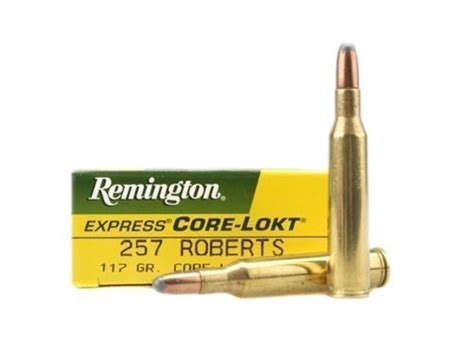 Remington Arms 257 Roberts Ammunition 20 Rounds Core And 300 Aac Blackout 7 62x35mm Ammo Rifle Remington 125
