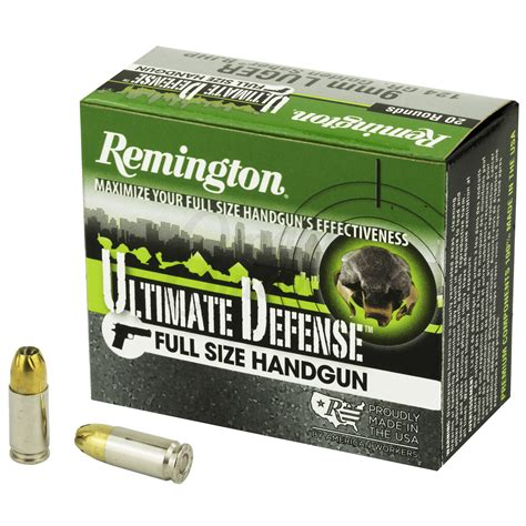 Remington Arms 9mm Ammo