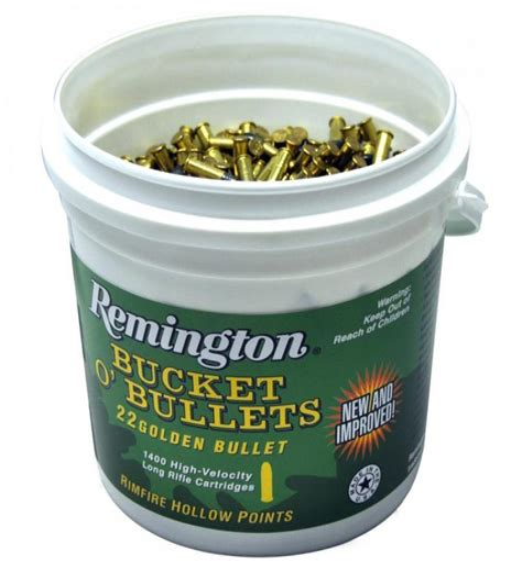 Remington Bucket Of Bullets 22 Long Rifle