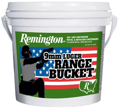 Remington Bucket Of Bullets 9mm