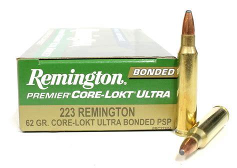 Remington Core Lokt 223 Bulk Ammo