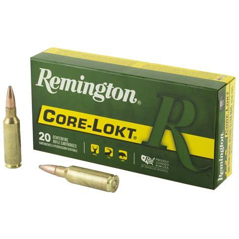 Remington Corelokt Ammo 300 Remington Saum 165gr Pointed Sp 300 Remington Saum 165gr Pointed Soft Point 20box
